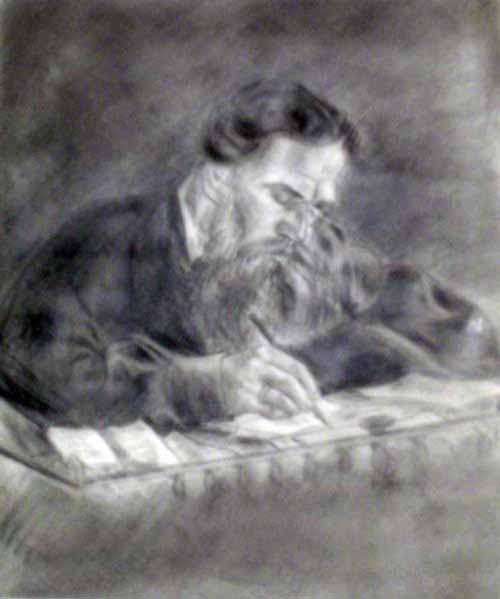 Tolstoy sketch, by George McManus