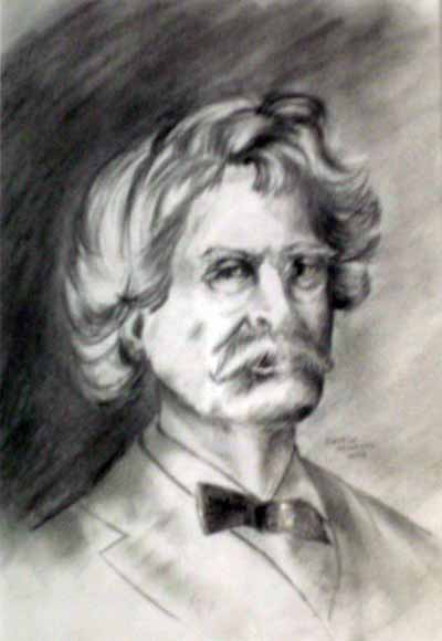 Twain sketch, by George McManus